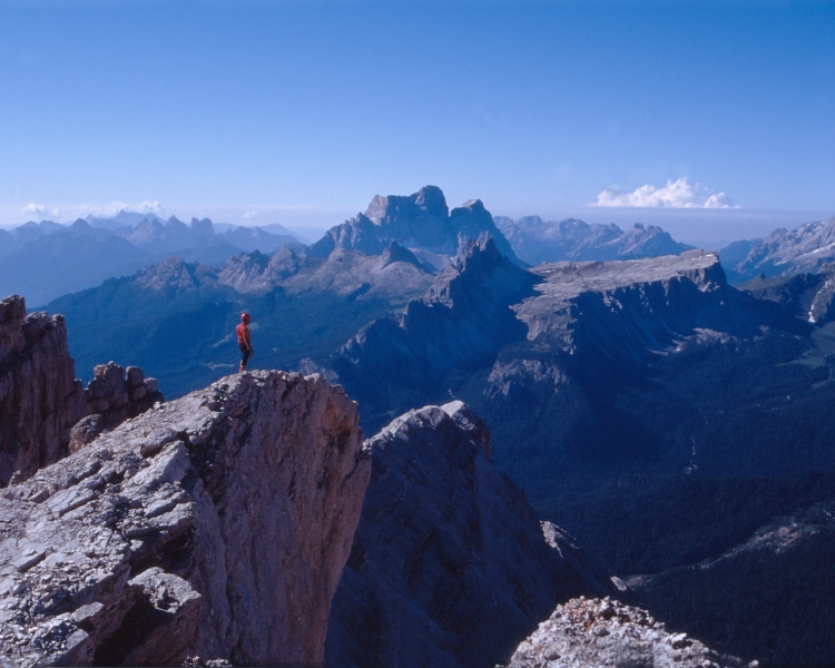 Foto Hans Goger Expedition Dolomiten